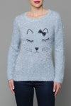 Sleepy Kitty Sweater