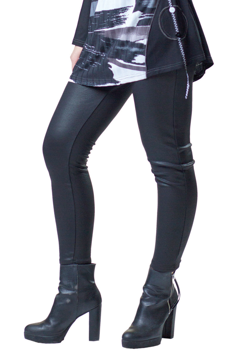 Leather Look Leggings