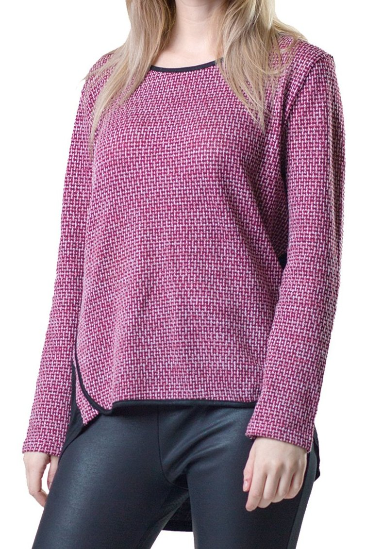 Hi-Lo Knit Top