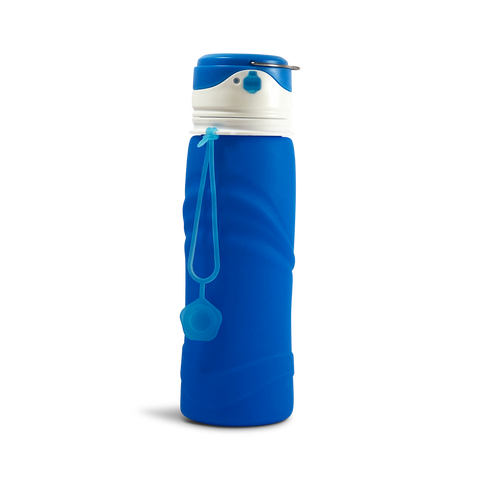 Camping Torch Water Bottle - Silicone 700ml