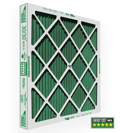 14x25x1 Inch Farr 30/30 Pleated Filter - 12 Pack $11.86 each