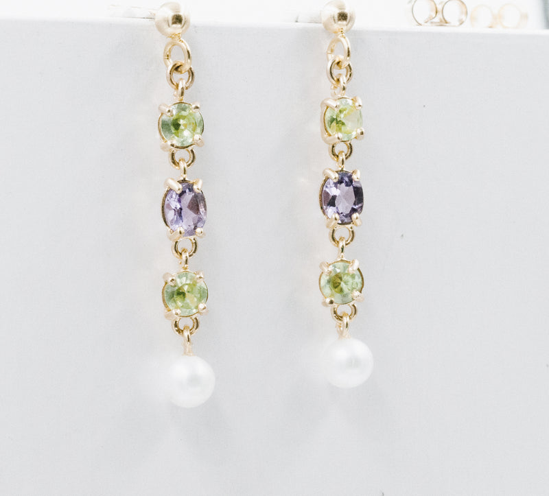 Amalfi earrings yellow gold