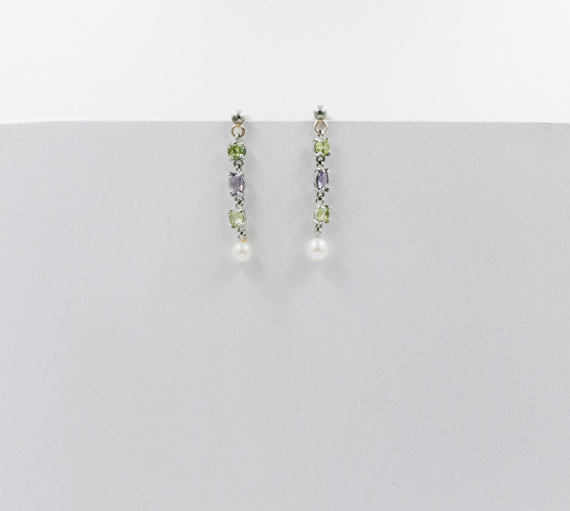 Amalfi earrings white gold