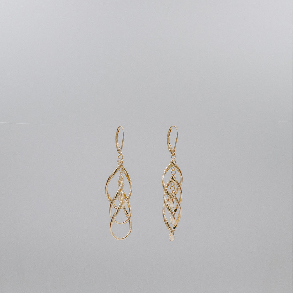 Long Linked Earrings