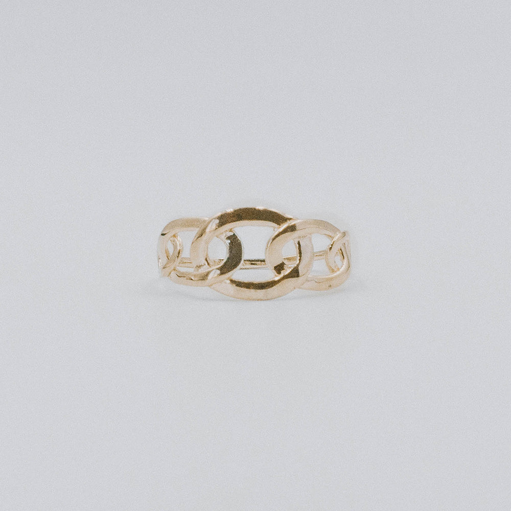 Oval chain ring