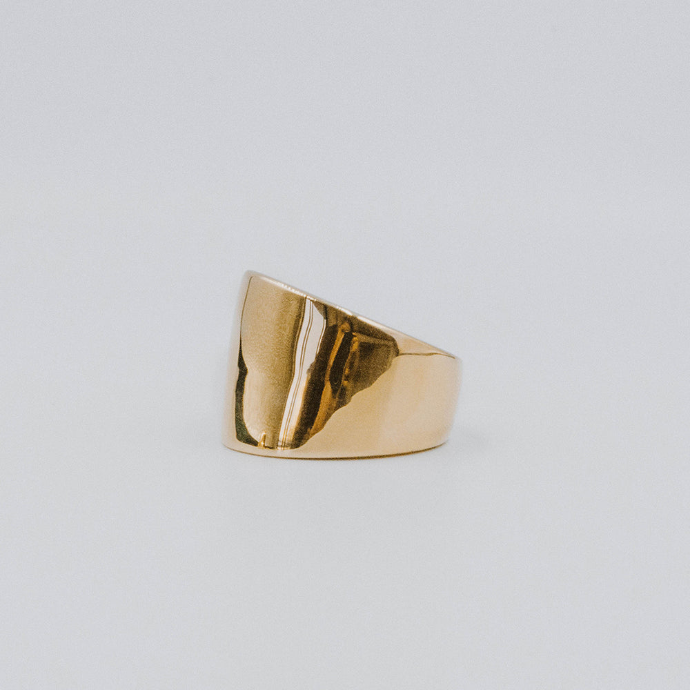 Deco bold ring
