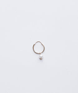Mini Gold hoop sweet pearl