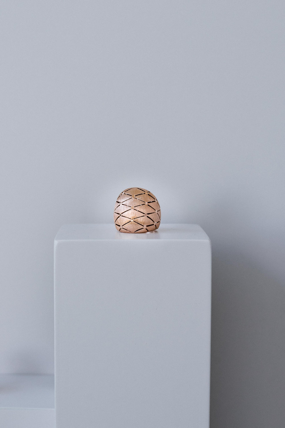 Anillo Barroque Sphere Oversized