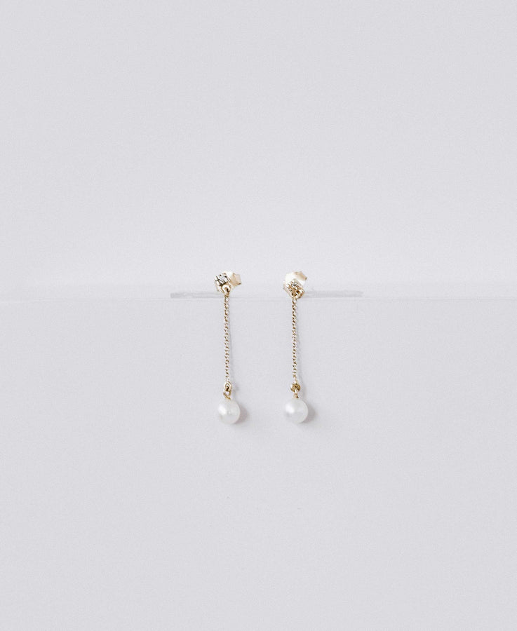 Aretes Long Dreamy Pearls