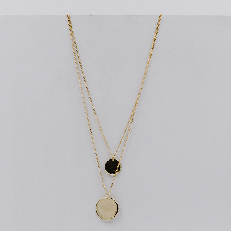 Collar Double Coin