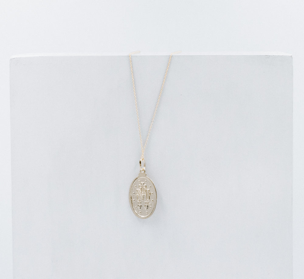 Milagrosa gold necklace