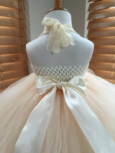 Lace Strap Handmade Flower Pixie Tutu Dresses, Afford Flower Girl Dresses,  FGY0145