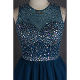 Open-back Homecoming Dresses ,Light Navy Homecoming Dresses,Cheap Short Prom Dresses,BDY0239