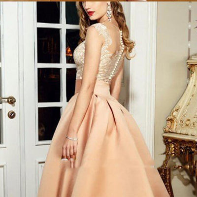 Newest High Quality Elegant Evening Dress With Appliques Lace, Long Prom Dress, PDY0297
