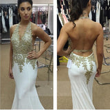 Sexy Long Open Back Chiffon Backless High QuDY0288ality Graduation Dresses,Wedding Guest Prom Gowns,PDY0288