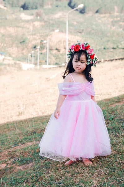 86da00e9e06e Cute A-line Off-shoulder Tulle Flower Girl Dress,Flower Girl dress FGY0250