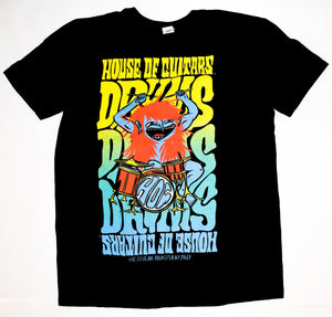 House of Guitars T-Shirt - Drums! Drums! Drums!