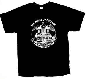 House of Guitars T-Shirt - Classic Black