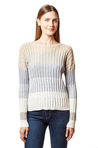ribbed boxy stripe