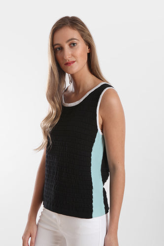 ruched tipped tank