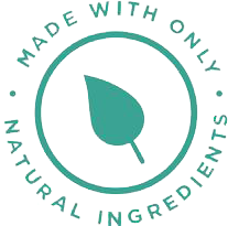 MADE WITH ONLY NATURAL INGREDIENTS
