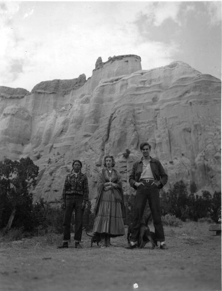 Millicent Rogers and friends on a hiking excursion near Taos