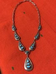 Frank Patania Sr Turquoise Necklace