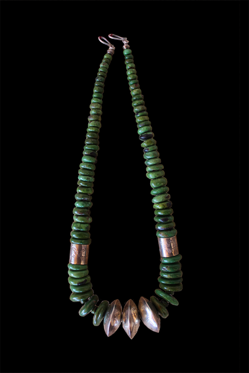 Emerald Valley Turquoise Necklace by Nestoria Coriz