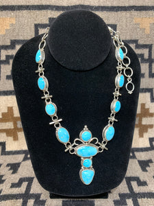 Turquoise Necklace by Ron Wesley