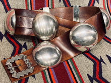 Silver Concho Belt by Chris Martin