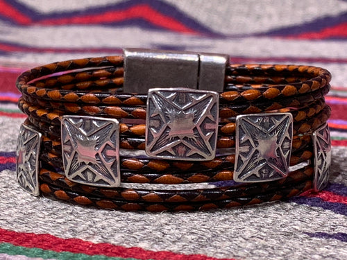 Bracelet by Cordon Y Cuero of Taos