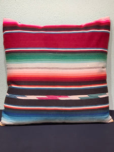 Large Saltillo Pillow by Salvaged