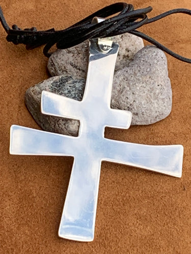 Felipe Cross Pendant by David Anderson of Taos