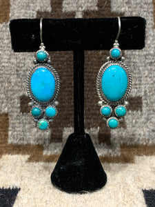 Turquoise Earrings by Ron Wesley