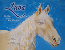 Luna, The Mare with the Sky Blue Eyes by Dora Dillistone