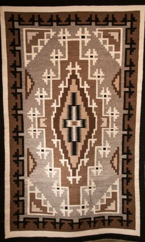 Toadlena Two Grey Hills Rug