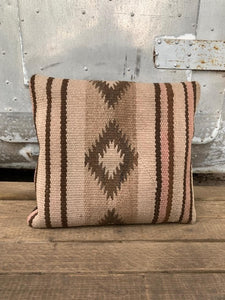 Navajo Rug Pillow by Salvaged