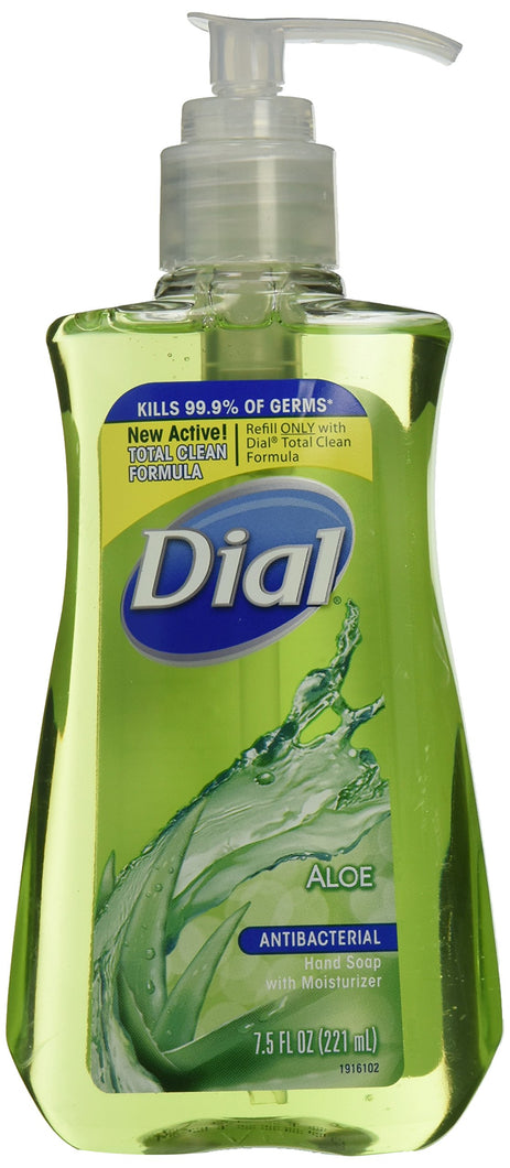 Dial Liquid Soap Aloe Pump 7.5 Oz (Pack of 2)