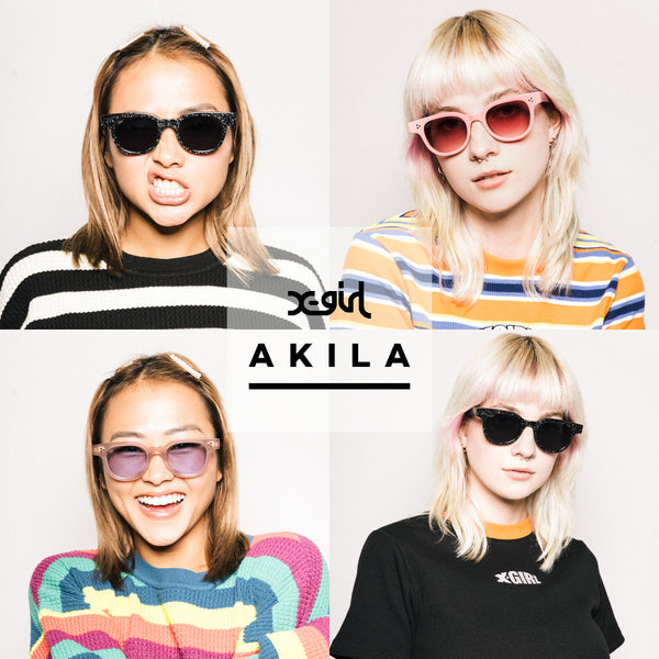 Limited edition X-girl x Akila