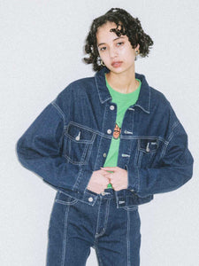 TRUCKER JACKET - X-girl