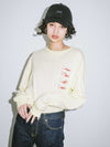 XGSA L/S BIG TEE, T-SHIRTS, X-Girl