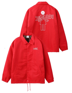 #1 X-girl x GIRL SKATEBOARDS COACH JACKET