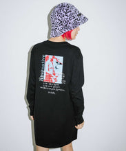 Load image into Gallery viewer, RIOT GRRRL L/S TEE DRESS, DRESSES, X-Girl