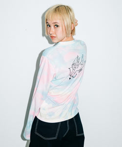 CUPID L/S CROPPED TEE, T-SHIRT, X-Girl