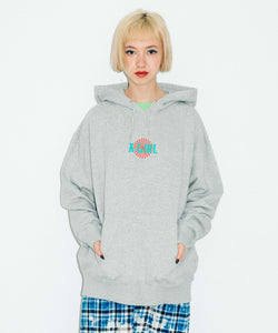 SPIRAL LOGO SWEAT HOODIE, HOODIES & SWEATERS, X-Girl