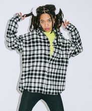 Load image into Gallery viewer, SHAGGY PLAID L/S SHIRT, SHIRT, X-Girl
