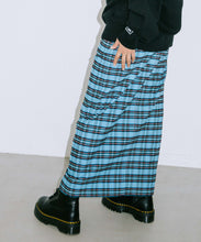 Load image into Gallery viewer, PLAID BUTTON-FRONT SKIRT, SKIRT, X-Girl