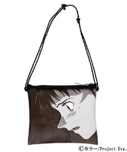Load image into Gallery viewer, X-girl × EVANGELION PVC SACOCHE BAG