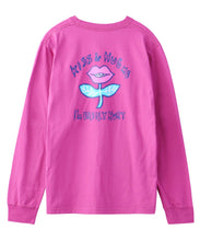 Load image into Gallery viewer, LIP FLOWER L/S REGULAR TEE, T-SHIRT, X-Girl