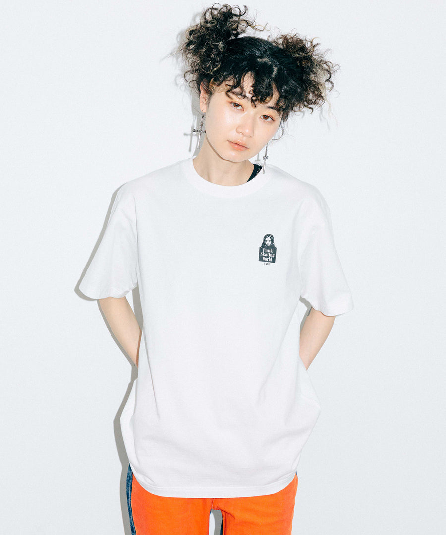 GRADATION LOGO S/S TEE, T-SHIRTS, X-Girl